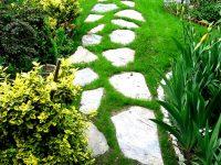 ścieżka ażurowa z łupka