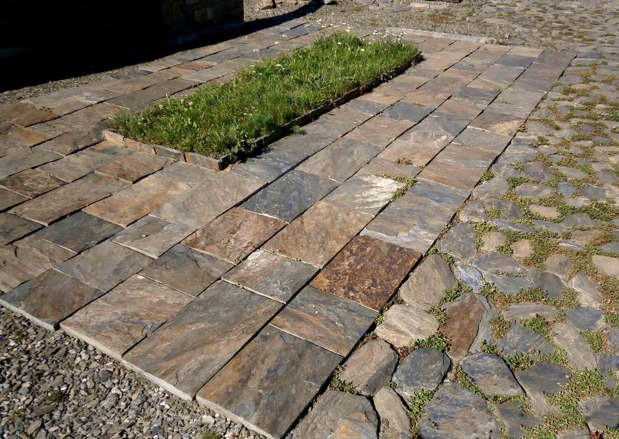 Wspaniały Kamień ścieżkowy na chodniki, podjazdy, tarasy — ozdoba ogrodu QG14
